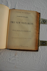 Title Page The New Testament, Commentary, Holy...