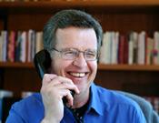 John on Phone