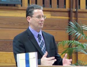 Pastor Shawn Hull of First Baptist, Walnut Creek, Calif.