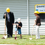 Church Breaks Ground for Education Wing