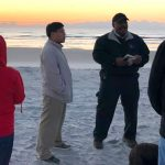 Sunrise Service on the Ocean Shore