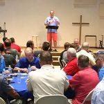 Steak and Corn Dinner Kicks Off Men's Ministries