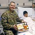 Welcome Home, Chaplain Jeremiah Cates