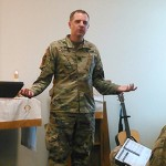 'Character Counts,' Says Chaplain Mark Worrell