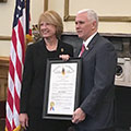 Ch. Pam Russell Receives Special Recognition
