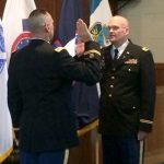 Chaplain Patrick Ireland Promoted to Major