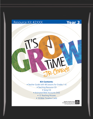 Children's Church Curriculum | It's Grow Time Kit - Year 3