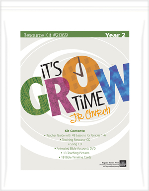 Children's Church Curriculum | It's Grow Time Kit - Year 2