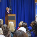 Pamela Russell Speaks at Women's Statehouse Day