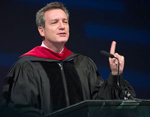 Don Shirk Speaks at Summit University Commencement