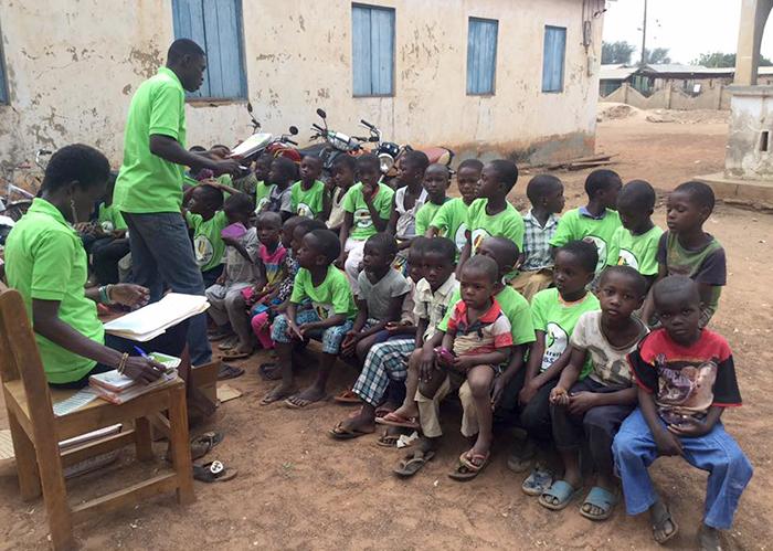 Kids4Truth Clubs in Lawra, Ghana in Africa