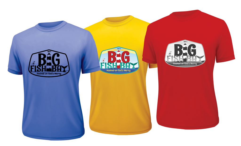 VBS 2020 Big Fish Bay logo tshirt