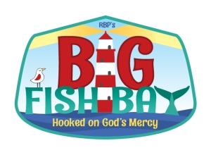 Big Fish Bay: Hooked on God's Mercy VBS 2020 Logo