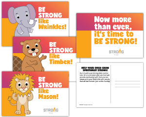 Strong Curriculum Welcome Postcards