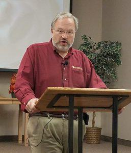 Jeff Newman teaching