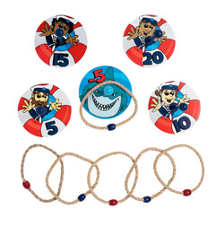 vbs shark ring toss game