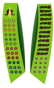 Kids4Truth Discoverers lime complete standard and patches