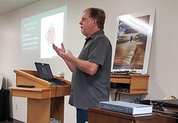 Alan Wilson at Sept. 12, 2020 teacher training workshop