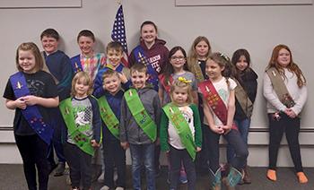 K4T Clubs, 1st Baptist, Cass City, MI, group of children