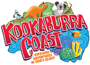 RBP's Kookaburra Coast VBS 2022 logo