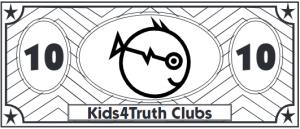 Kids4Truth Clubs cash sample