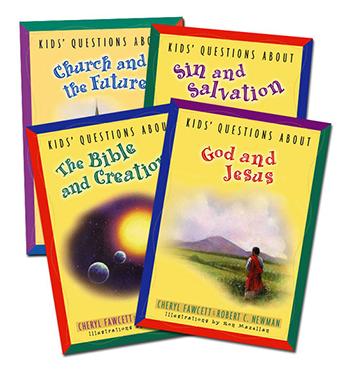 Kids' Questions 4-book set