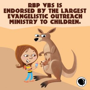 RBP VBS is endorsed by the largest evangelistic outreach ministry to children—Child Evangelism Fellowship!