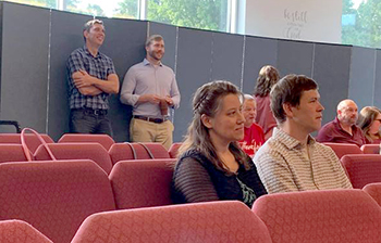 Bob Roberts, founder of K4T, attends training event in Taylors, S.C., Aug. 2021