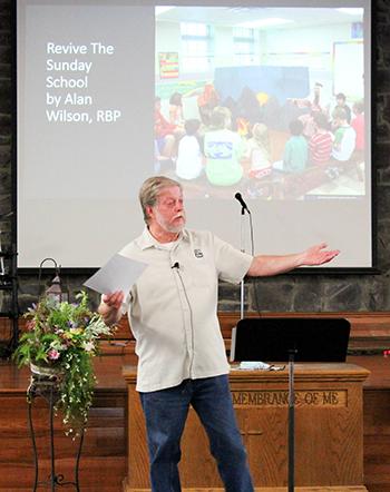Alan Wilson speaks at training seminar at Grace Baptist in Laurel, Md. 9/18/21