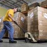 Paul Stump Warehouse GLS shipment
