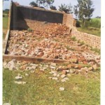 Torofu Baptist Church fall down 1