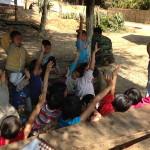 2014 VBS - outside teaching