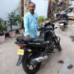Indian Pastor Praises God for Motorcycle