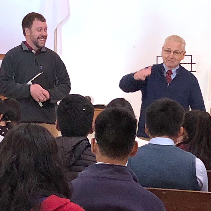 Hindals Visit Ministries in South Peru