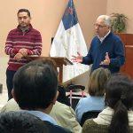Chris Hindal Presents Partnership to Two Peruvian Associations