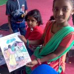 Children in India Excited about Sunday School Materials