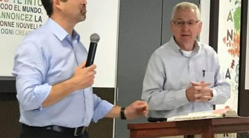 Chris Hindal Ministers in Lima, Peru