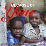 International Ministries: Because of You!