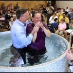 New Life's First Baptismal Service