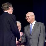 Eldon Brock service award